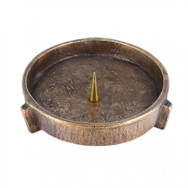 Bronzeleuchter für Kerzen bis 120mm D