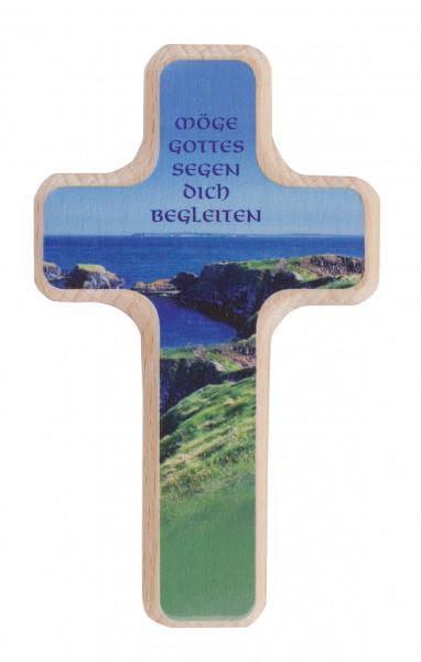 Holzkreuz - Möge Gottes Segen dich begleiten