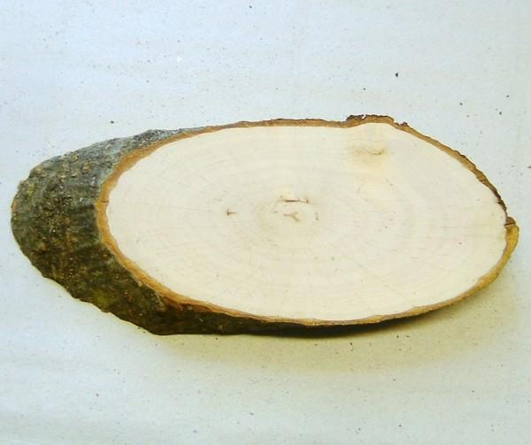 Rindenbrettchen oval 14-16cm x 8cm