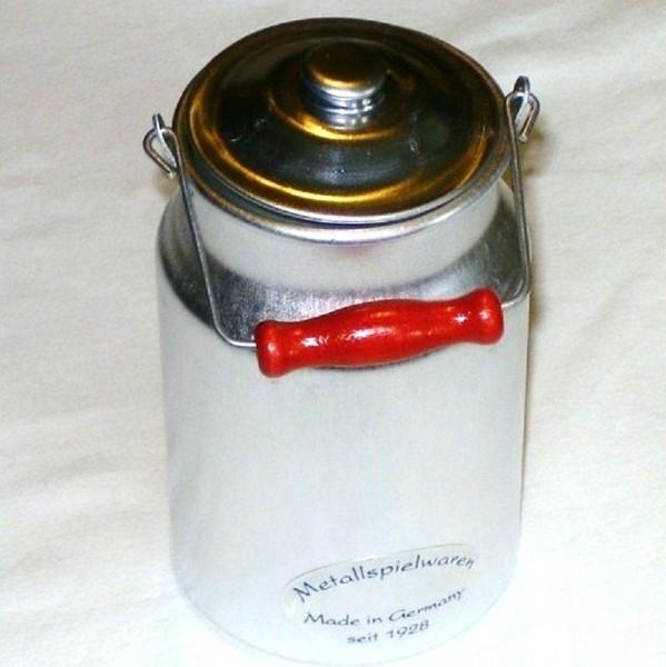 Kinder Milchkanne aus Aluminium 1/4 Liter