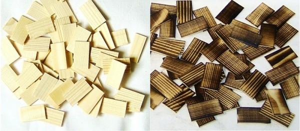 Fichtenholz Schindeln 20x35mm