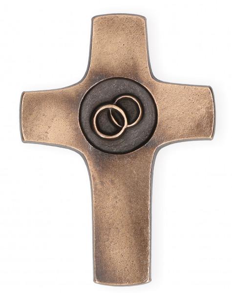 Kreuz aus Bronze - Ehekreuz