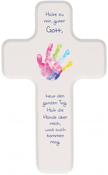 Kinderholzkreuz - Kreuz, halte zu mir guter Gott