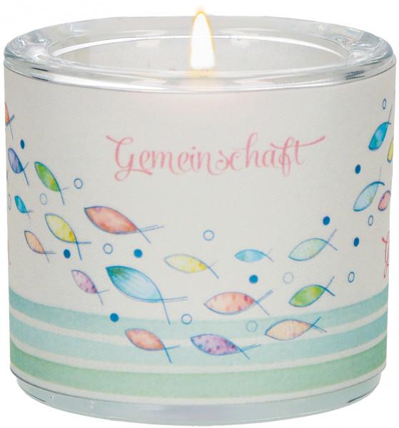 LichtMoment Glaswindlicht - Erstkommunion, Segen