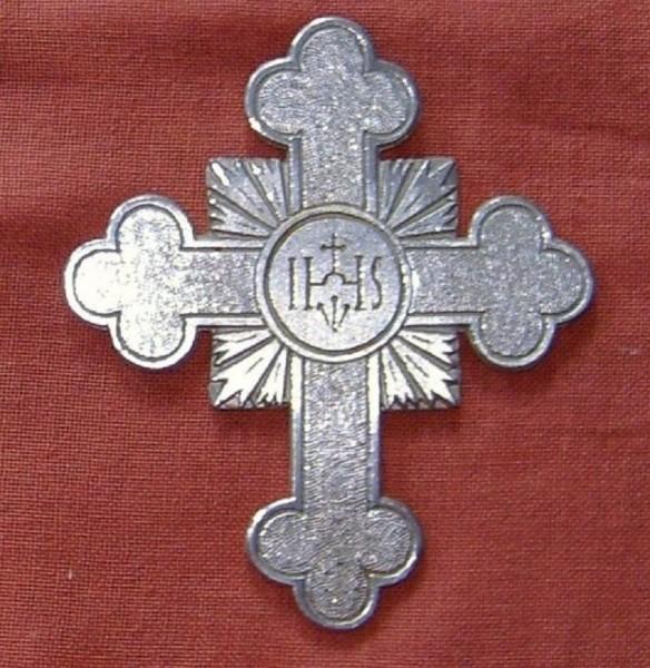 Kreuz Zinn Kommunionkreuz, Devotionalien, Christliches Geschenk