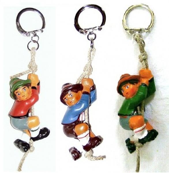 Schlüsselanhänger mit Klettermax aus Plastik