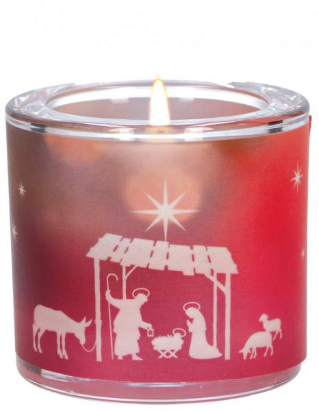 LichtMoment Glaswindlicht - Stille der Weihnacht