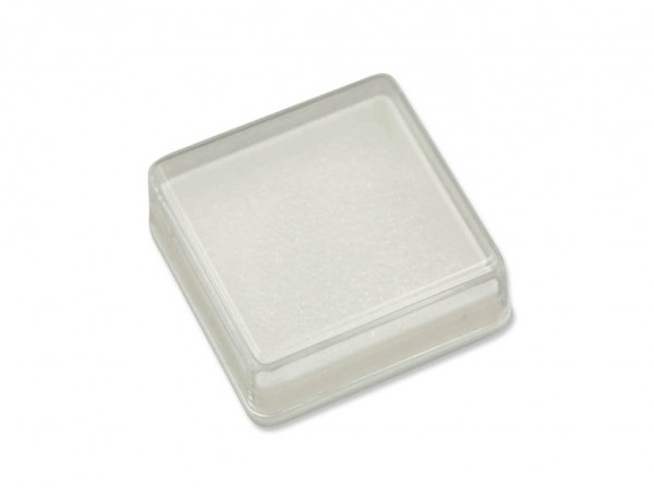 Kunststoff-Döschen, Geschenkdose 4 x 4 x 1,5 cm