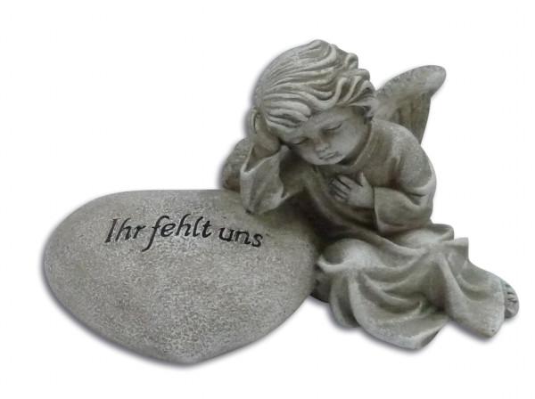 Engel an Herz lehnend Ihr fehlt uns, 83/73