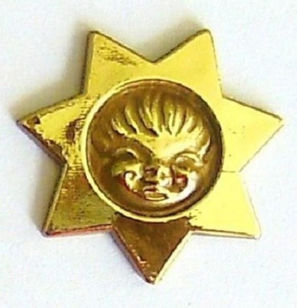 Miniatur Stern 31mm, Streuartikel zum basteln Plastik