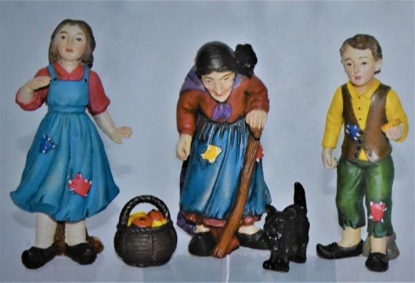 Märchenfiguren aus Steinharz