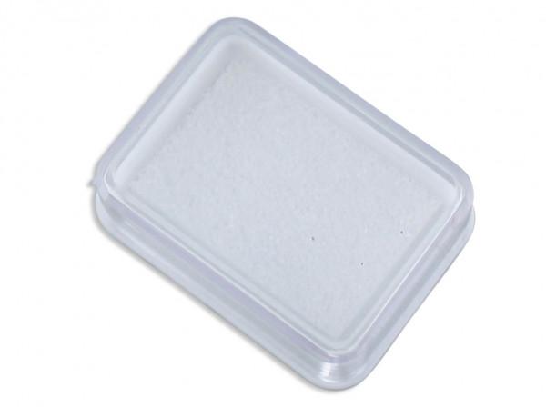 Döschen für Schmuck transparent 3,5x2,8x1,5cm
