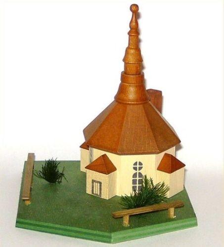 Räucherhäuschen aus dem Erzgebirge, Seiffener Kirche