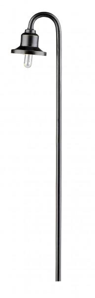 Miniatur Eisenbahnlampe 19V Spur HO 8,2cm H