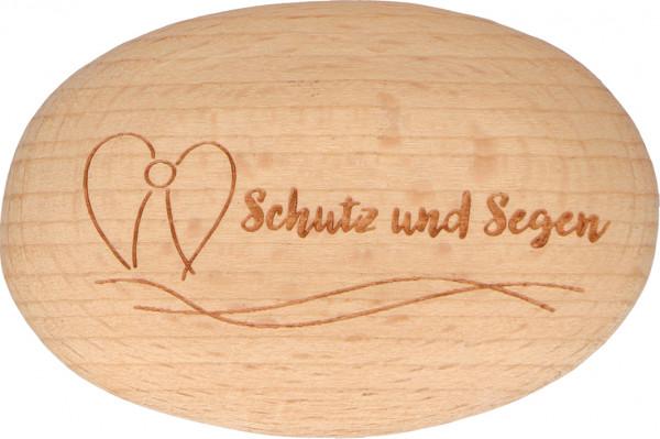 Handschmeichler Holz - Schutz und Segen