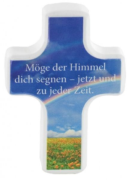 Handschmeichlerkreuz Holz - möge der Himmel dich segnen