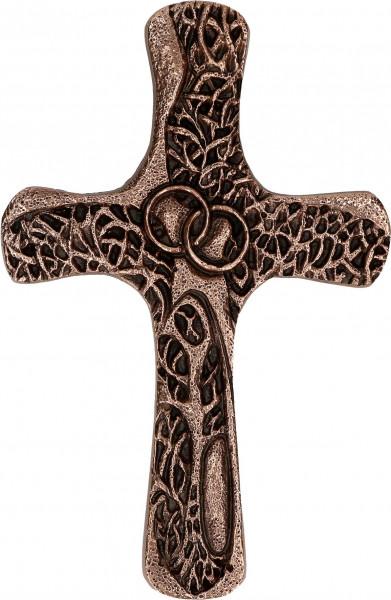 Kreuz aus Bronze - Ehekreuz. Segen sei mit euch