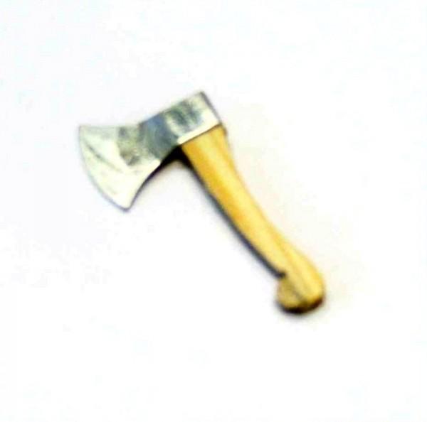 Miniatur Werkzeug, Axt; Beil 4cm, Krippenzubehör