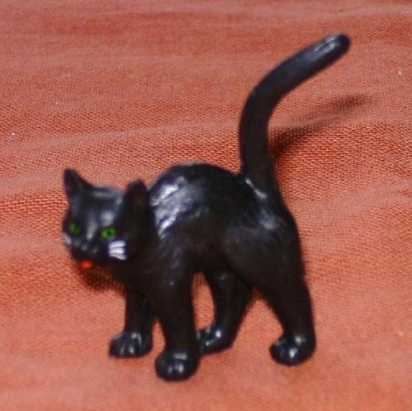 Katze stehend Tier- Märchenfigur Sammelfigur Plastik