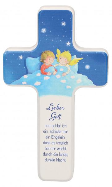 Kinderholzkreuz - Kreuz mit Motiv, Engelein