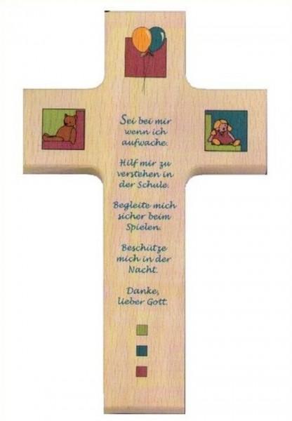 Kinderkreuz Kreuz Holzkreuz, sei bei mir, Christliches Geschenk