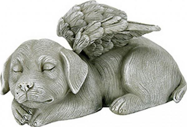 Grabschmuck für Tiergrab, Hund mit Flügel