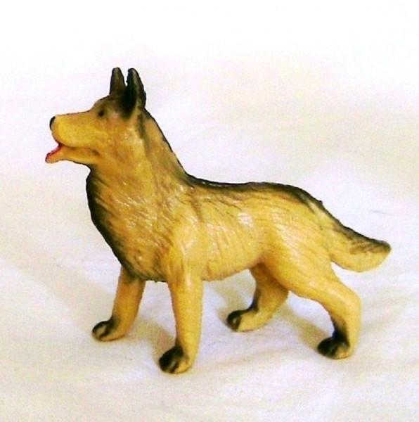 Schäferhund, Hund Dekofigur steh. 6cm Tierfigur Plastik