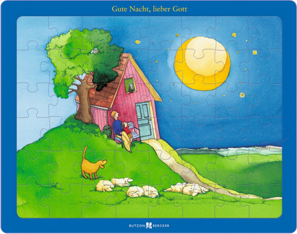 Puzzle - Glaubenspuzzle Gute Nacht lieber Gott