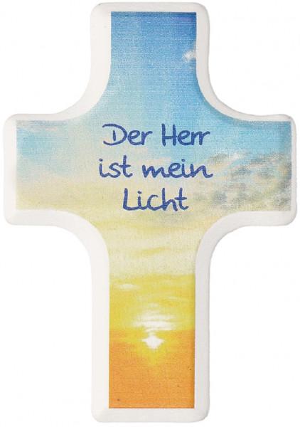 Handschmeichlerkreuz Holz - Der Herr ist mein Licht