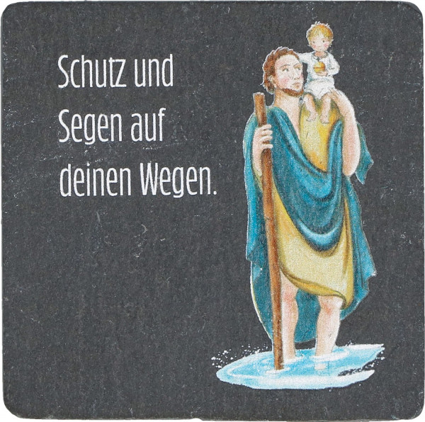 Magnet Schiefer - Christophorus