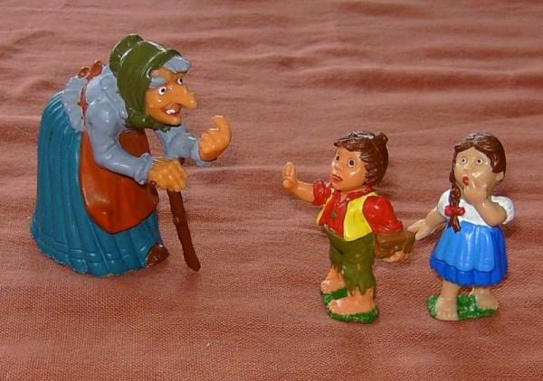 Märchen Hänsel und Gretel Figuren Set, Figuren Plastik