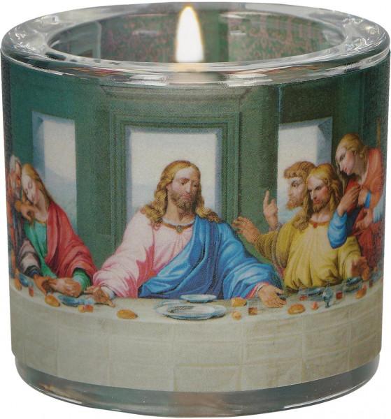 LichtMoment Glaswindlicht - Abendmahl Leonardo Da Vinci