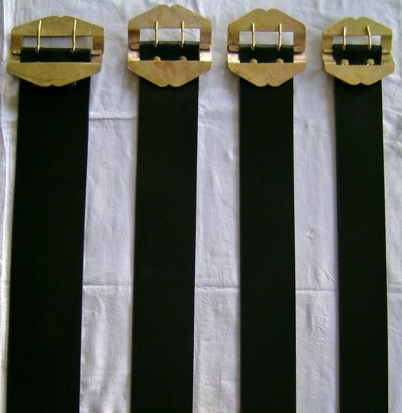 Weideriemen, Echt Leder Glockenband für Kälber