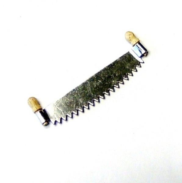 Miniatur Werkzeuge, Säge, Baumsäge 5cm, Krippenzubehör