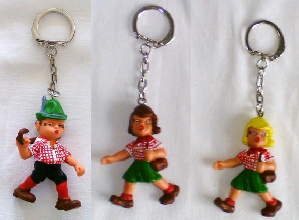 Schlüsselanhänger mit Wander oder Wanderin