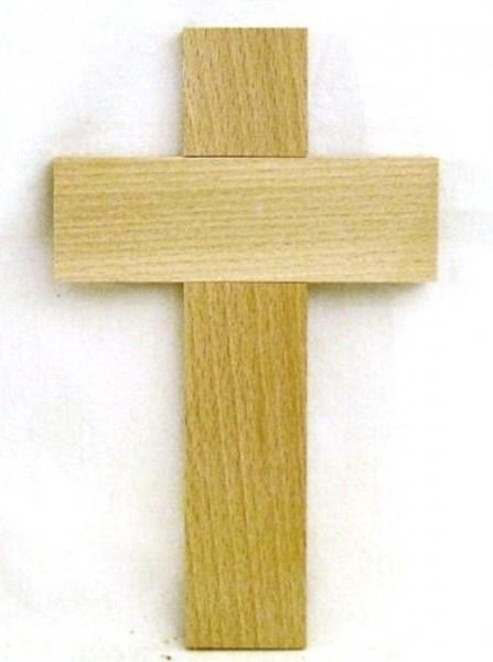 Kinderkreuz Kreuz Holzkreuz 20x12x1cm, Christliches Geschenk