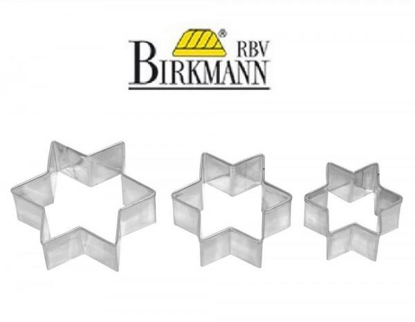 RBV Birkmann Plätzchenausstecher Stern 3-fach Terrasse