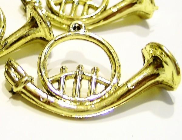Miniatur Deko Horn Plastik, Bastel- Dekoartikel