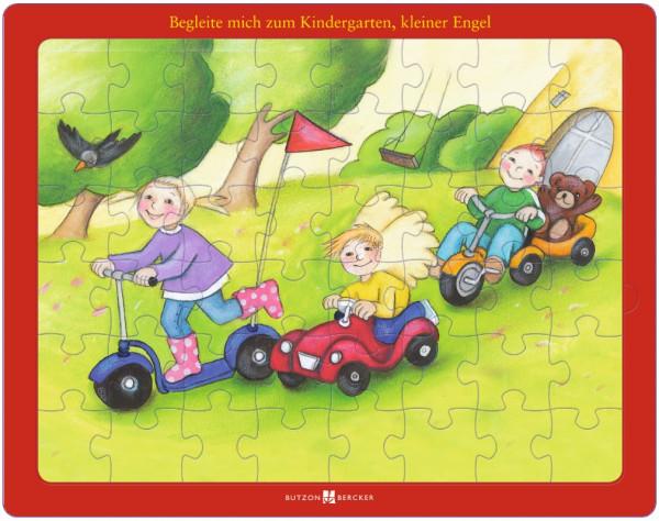 Puzzle Begleite mich zum Kindergarten kleiner Engel