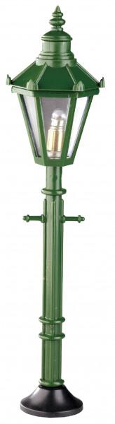 Puppenhaus Mini Stehlampe 3,5V Kunststofflaterne grün