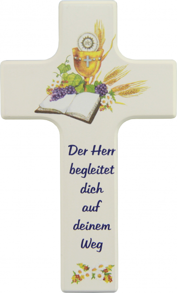 Kinderkreuz Holz Motiv, Der Herr begleite dich