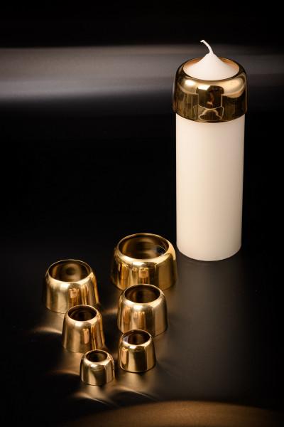 Kerzenringe für Tropfschutz und Brennregeln