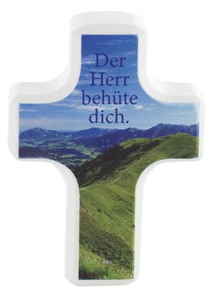 Handschmeichlerkreuz Holz - Der Herr behüte dich