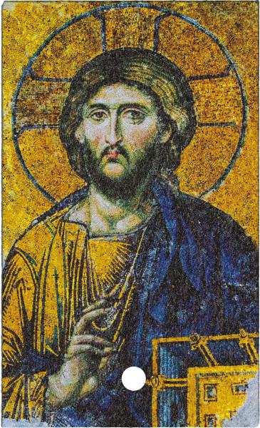 Schiefertafel zum aufstellen - Christus