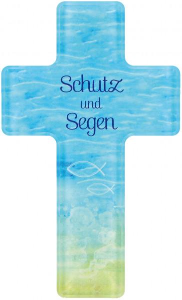 Kreuz aus Acrylglas - Schutz und Segen