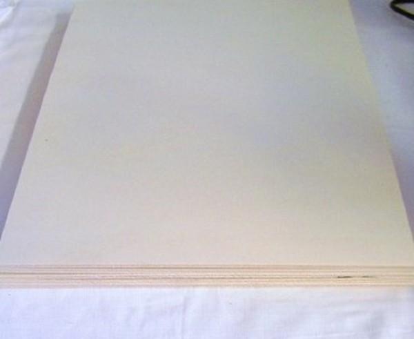 5St. Pappelsperrholz Sperrholzplatten Bastelholz
