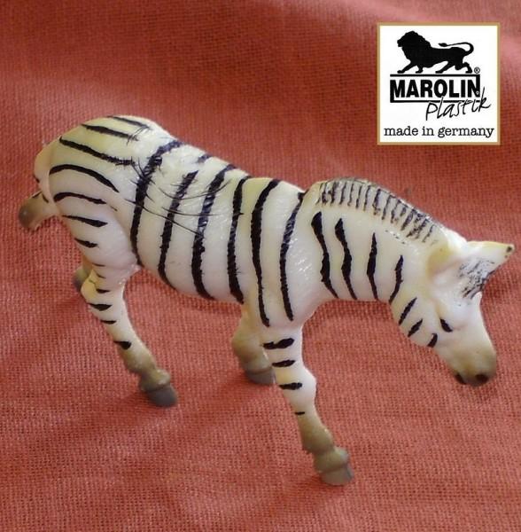 Zebra Tierfigur, Sammelfigur und Spielfigur aus Plastik