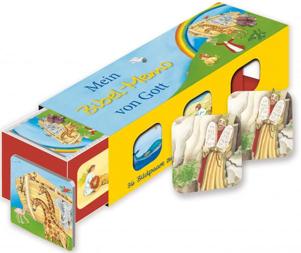 Mein Bibel-Memo von Gott - Kartenlegespiel