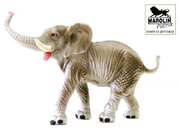 Tierfigur Elefant, Marolin Plastik Deko Sammelfigur