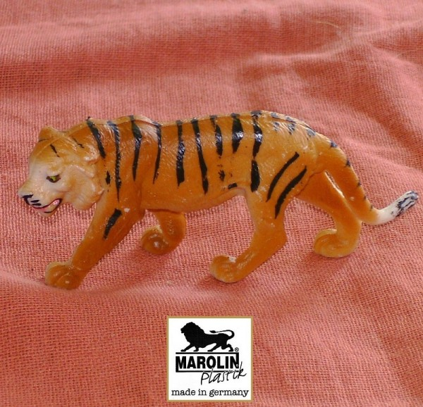 Tierfigur Tiger Marolin Plastik